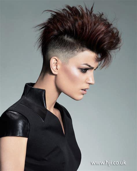 undercut mohawk hairstyle 2015 black undercut hairstyle with mohawk detail jpg now