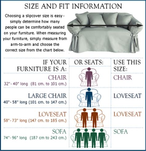 How To Measure For Sofa Slipcovers by Frequently Asked Questions About Sure Fit Slipcovers