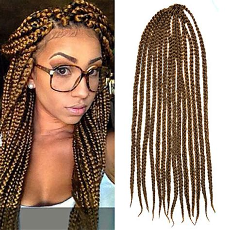 large box braids 5 packs of hair light brown senegal crochet twist large box braids 24