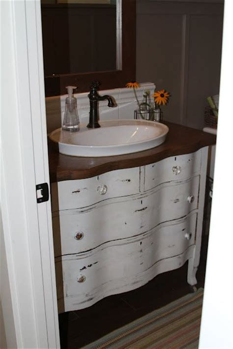 raised bathroom sinks bathroom vanity from dresser i like the raised sink for