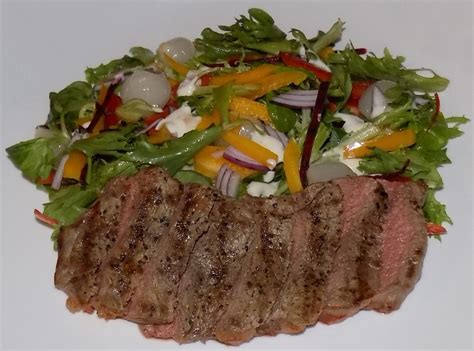 protein 6 oz sirloin steak sirloin steak salad low calorie recipes