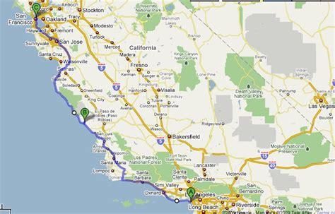 usa map los angeles san francisco bundu bashers tours