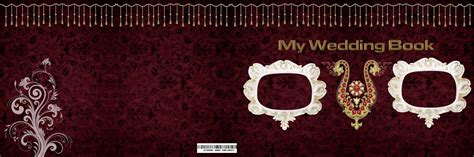 Wedding Album Front Page Design Psd by 12x36 Wedding Album Cover Page