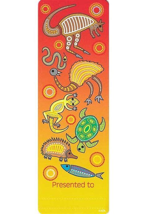 Printable Australian Bookmarks | aboriginal bookmarks australian teaching aids