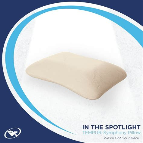 Tempurpedic Pillow For Side Sleepers by For Back Or Side Sleepers This Tempur Pedic