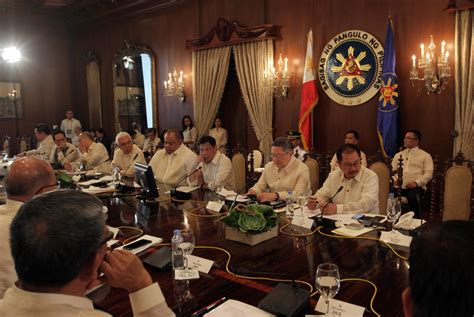 Presidential Cabinet by Cabinet Told No Vips Stop Inquirer News