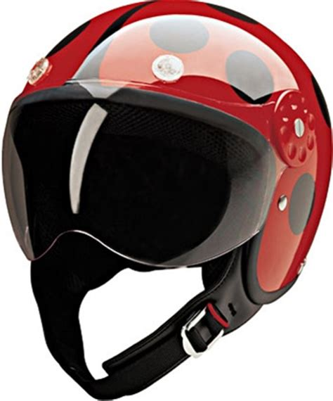 red lady bug women's motorcycle helmets free shipping
