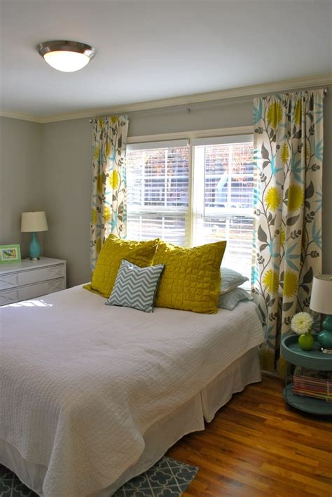 teal and yellow bedroom yellow gray and teal decorations pinterest