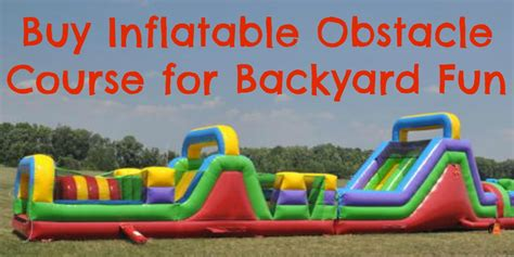 buy inflatables where to buy obstacle course for