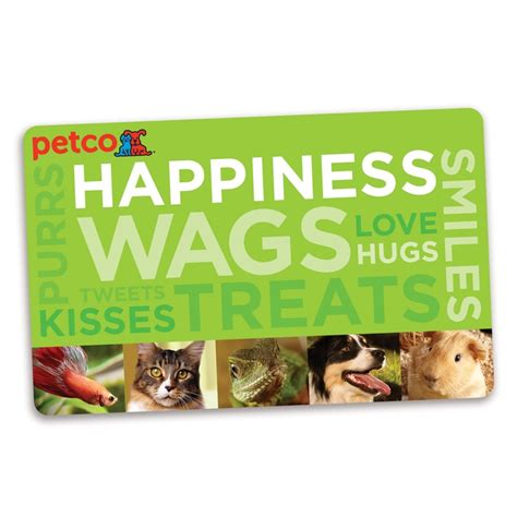 Petco Gift Cards - petco wags gift card animals and all things pet related pinterest