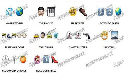 guess the film by emoji emoji answers level 19