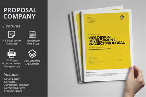 design proposal elements contoh cover proposal word 187 designtube creative design