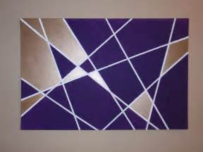 geometric wall decor geometric wall art diy wandering