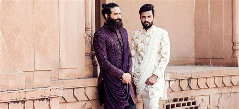 6 Best Sherwani Wedding Outfit Styles for Men   Bewakoof Blog