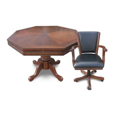 3 in 1 table and chairs walnut kingston 3 in 1 table with 4 chairs