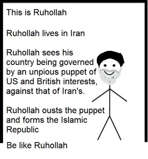 Interest Section Of The Islamic Republic Of Iran by 25 Best Memes About Kholy Khomeini Kholy Khomeini Memes