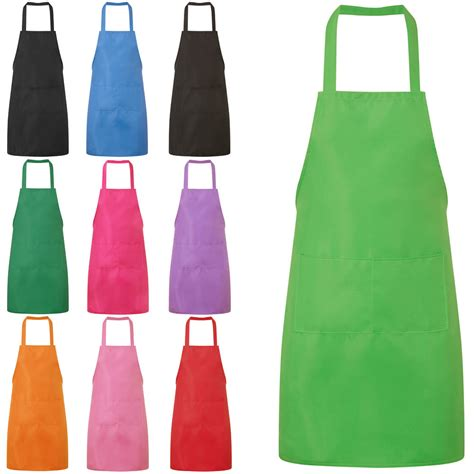 apron designs and kitchen apron styles new plain unisex cooking catering work apron tabard with
