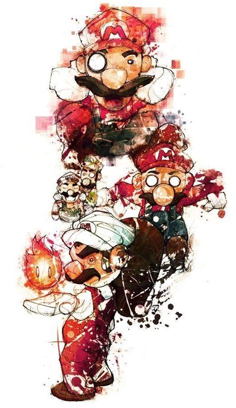 Kaos Mario Bross Mario Artworks 16 141 best images about mario nintendo on