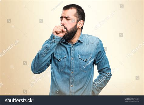coughing a lot coughing a lot stock photo 386722621