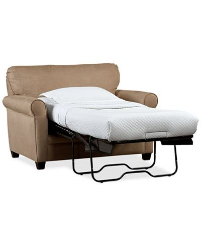 kaleigh fabric sleeper chair bed furniture macy s