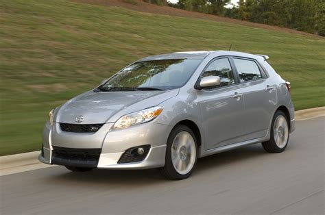 toyota matrix xrs all new 2009 toyota corolla and matrix pricing released