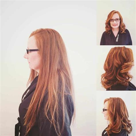 before after color cut and style by hair trendz stylist hair cut before and after the grand beauty spa