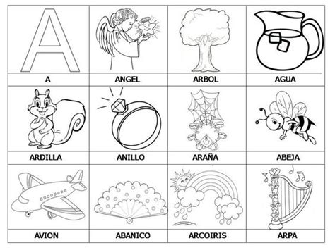 imagenes que comiencen con la letra i objetos que empiecen con la letra a para recortar imagui