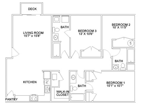 3 bedroom 3 bathroom apartments aspen court apartments