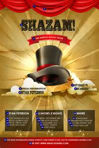 magic show poster ticketprinting com