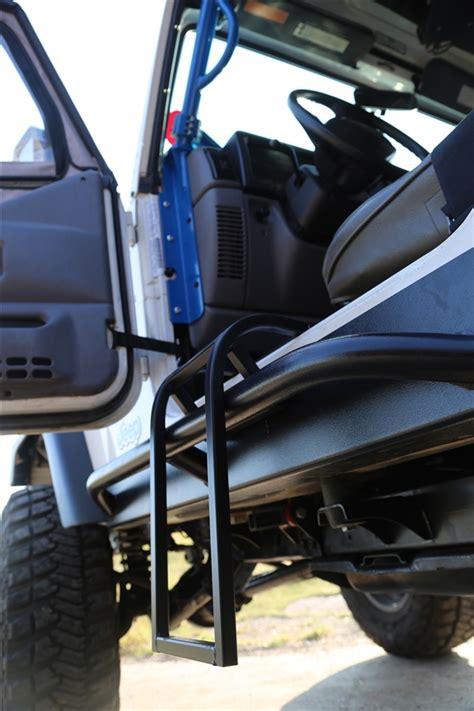 rock hard  trail step  jeep wrangler tjlj