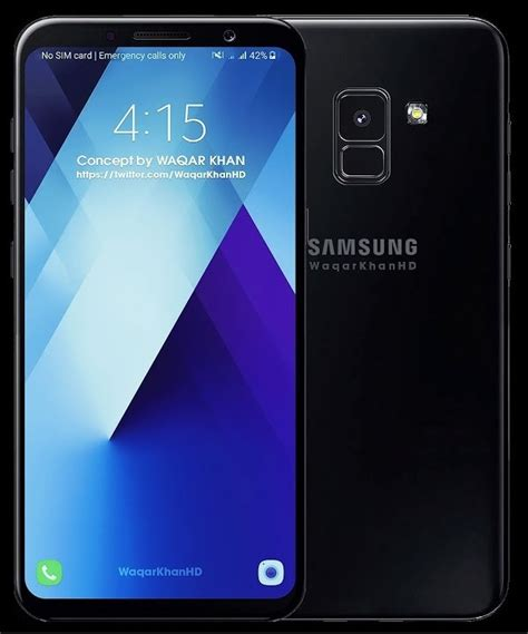 Samsung A5 Pro 2018 samsung galaxy a5 2018 s renders reveal a nearly bezel free display 91mobiles