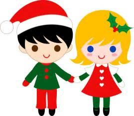 Cute christmas kids clip art free clip art
