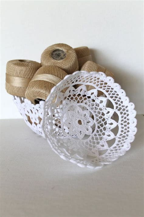 White Lace Yarn handmade white lace crochet bowls yarn it all patterns inspiration and crochet
