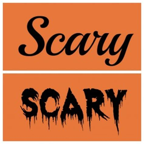 10 creepy word fonts images scary word fonts, scary