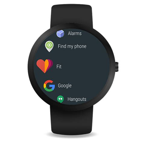 Smartwatch Android Wear android wear smartwatch android apps on play