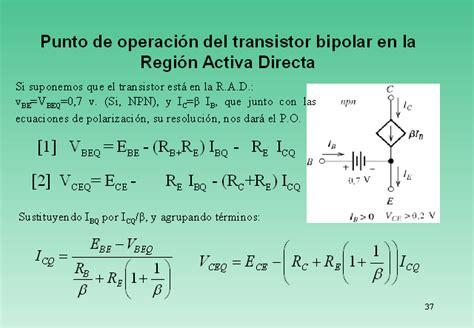transistor d5038 equivalent transistor bipolar regiones operacion 28 images punto de trabajo q y recta de carga est 225