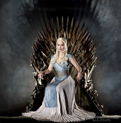 who is the lady in the game of war advert daenerys targaryen on the iron throne tyrionlannister net