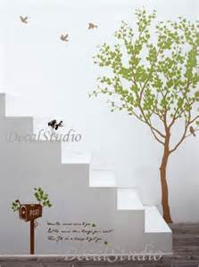 how to make removable wall stickers love tree with flying birds removable wall decals vinyl
