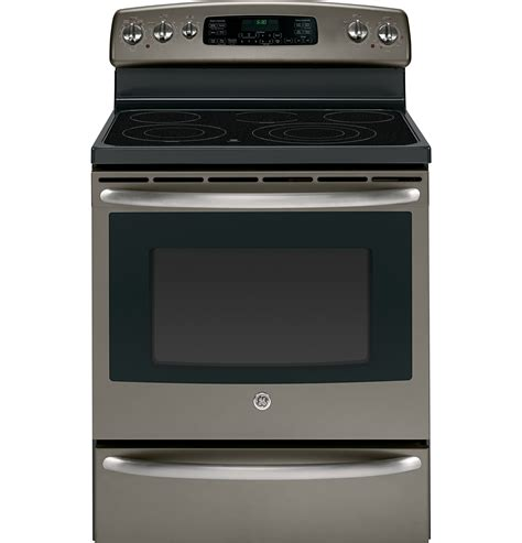 ge 174 30 quot free standing electric range with warming drawer