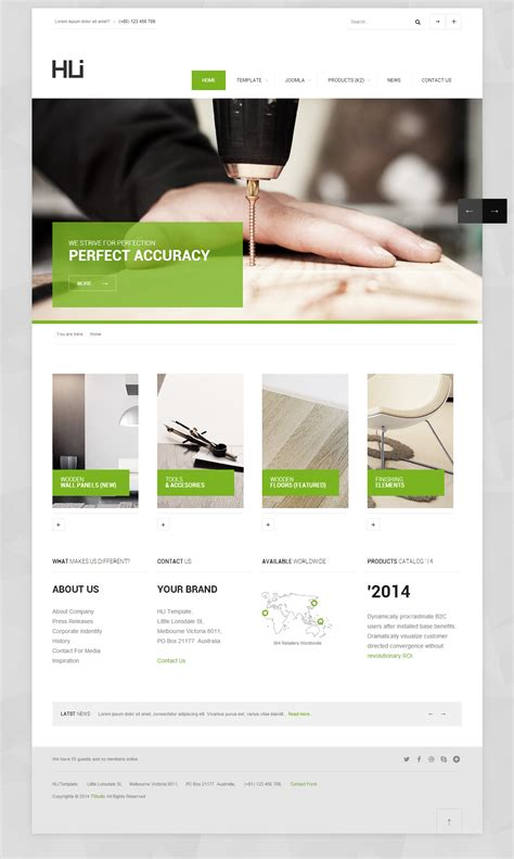 free bootstrap templates for joomla 2 5 15 best responsive joomla bootstrap templates 2014