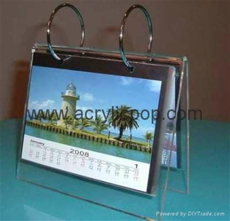 acrylic desk calendar holder acrylic desk calendar stand and calendar holder tl 001