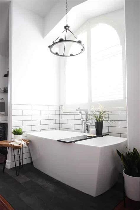 Modern Bathroom Renovation by Modern Bathroom Reveal Create Celebrate