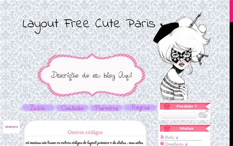layout blog kawaii mundinho da sa novo layout free