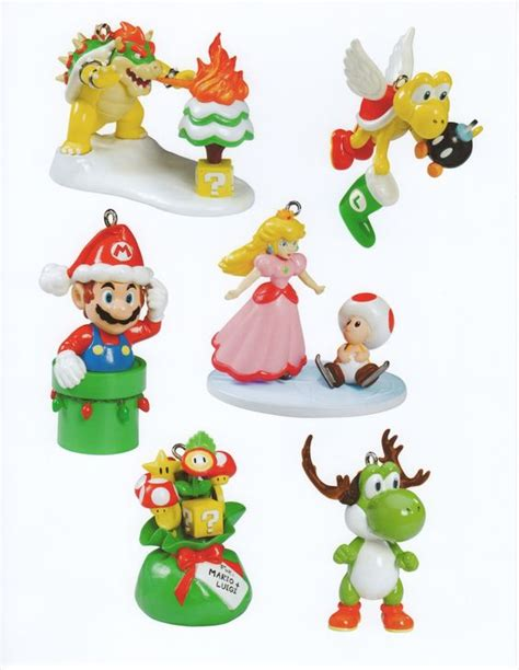 super mario christmas ornaments things i want