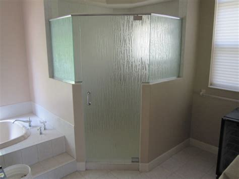 Curved Shower Screen For Corner Bath frosted glass and mirrors in ft myers fl