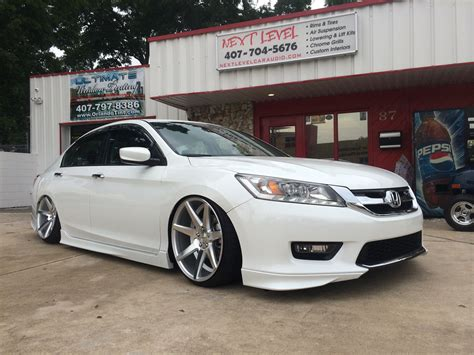 Custom Honda Accord by 2014 Honda Accord With Complete Mmats Audio System