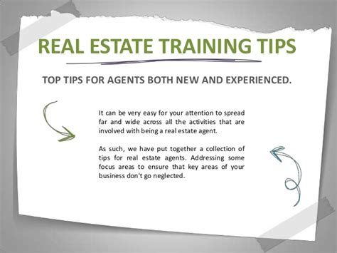 5 real estate tips