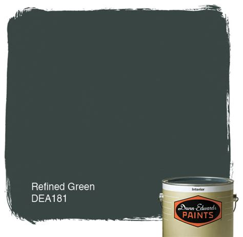 dunn edwards paint refined green dea181