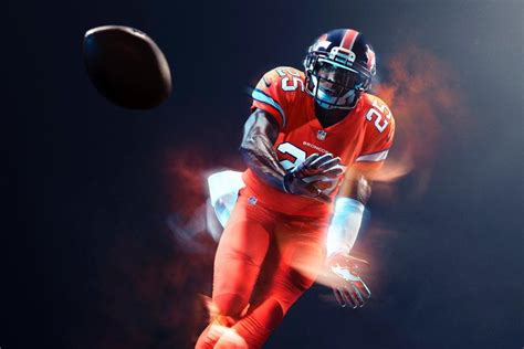 what color are the broncos nfl unveils broncos color