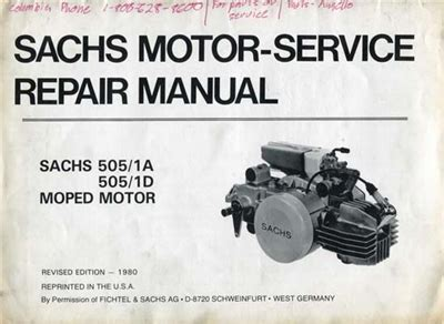 Sachs Moped Motor Parts by Free Sachs 505 Moped Engine Repair Manual
